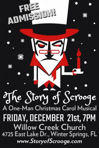 Story of Scrooge WCC 2018 Flyer
